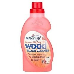 ASTONISH 750ml Flawless Wood Floor Cleaner Jasmine and Wild Berries